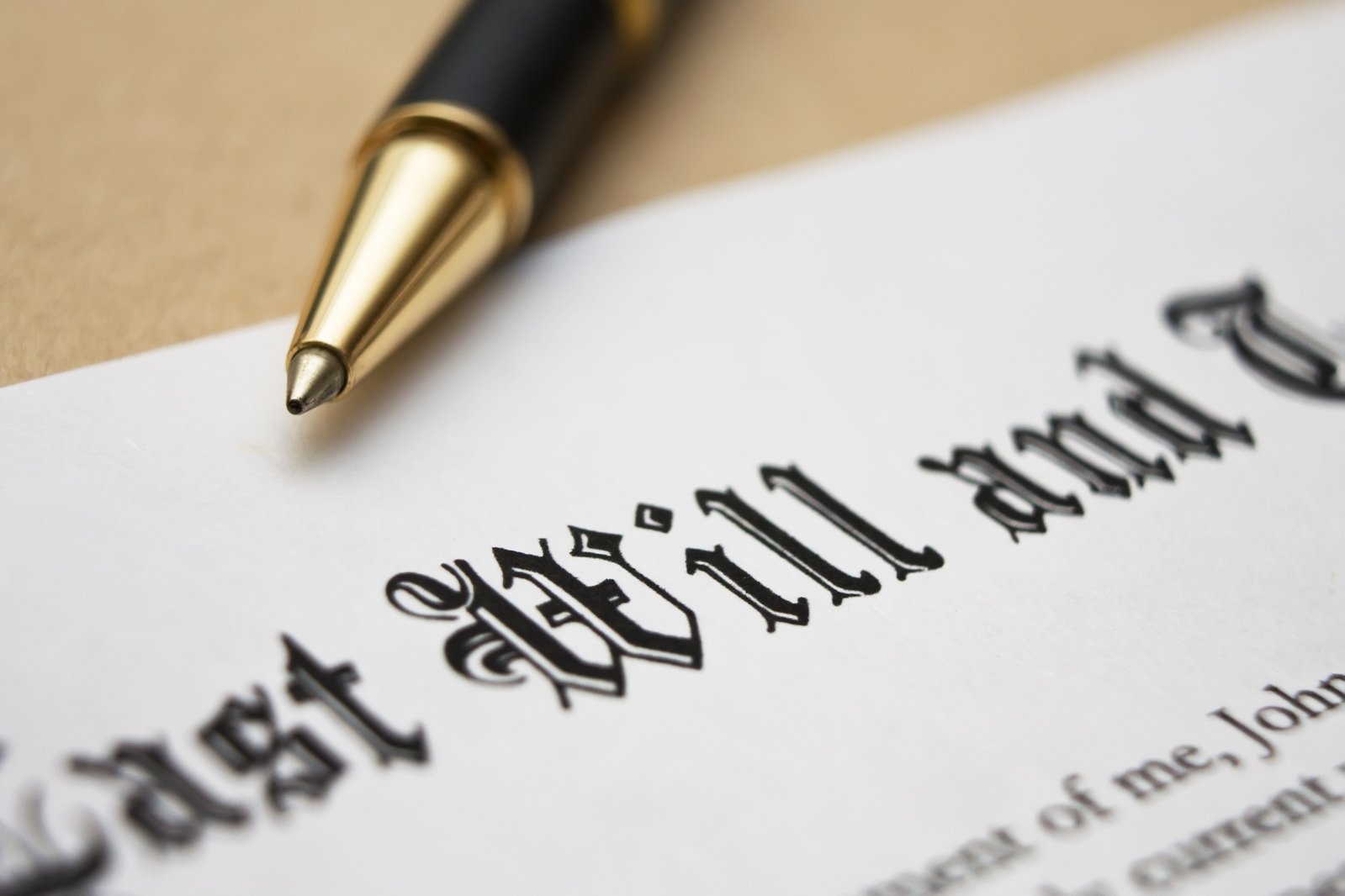 Albion Wills and Inheritance